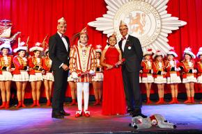 Inthronisierung Kinderprinzenpaar der Prinzengarde der Stadt Düsseldorf