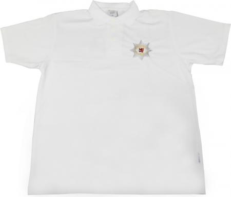 Prinzengarde Polo Shirt weiß